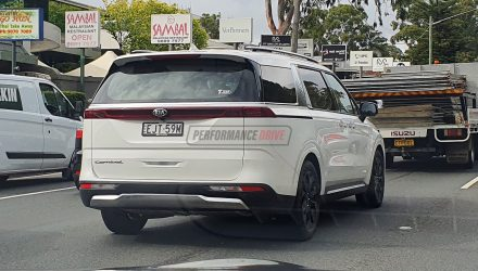 2021 Kia Carnival spotted in Australia, launches in January