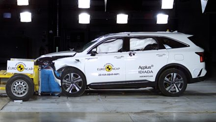 2021 Kia Sorento scores 5-star ANCAP safety rating (video)