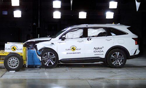 2021 Kia Sorento scores 5-star ANCAP safety rating (video)