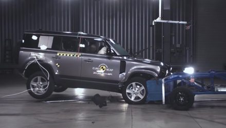 2021 Land Rover Defender gets 5-start ANCAP safety rating (video)