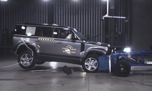 2021 Land Rover Defender gets 5-start ANCAP safety rating (video)