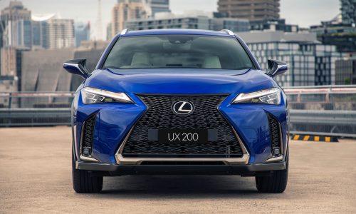 2021 Lexus UX update now on sale in Australia from $44,445