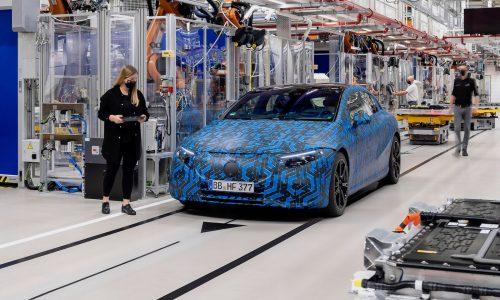 Mercedes-Benz EQS electric sedan previewed, EQA debuts January 20