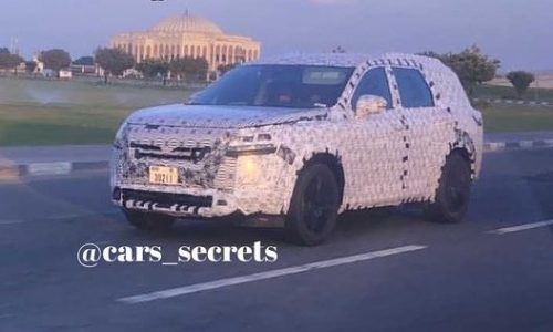 2022 Nissan Pathfinder prototype spotted, previews new design