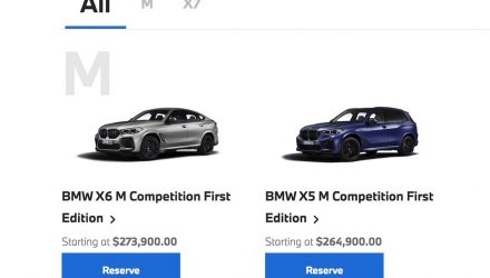 2021 BMW X5 M & X6 M Competition 'First Edition' now available