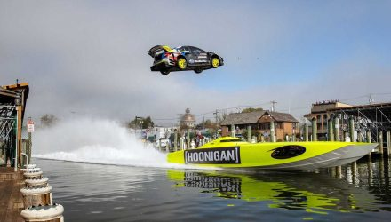 Video: Gymkhana 2020; Travis Pastrana goes nuts, stars new BRZ