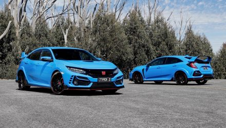 MY2020 Honda Civic Type R update arrives in Australia