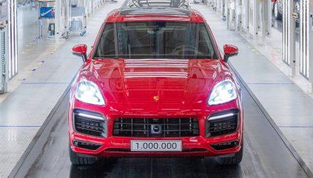 Porsche Cayenne hits 1,000,000 production milestone