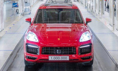 Porsche Cayenne hits 1,000,000 production milestone