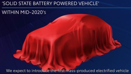 Toyota plans first solid-state battery for EV, concept in 2021