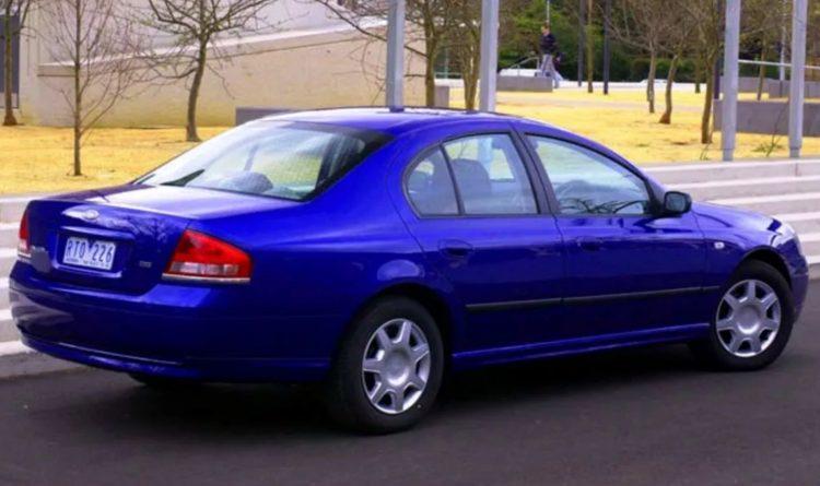 2003 Ford BA Falcon XT