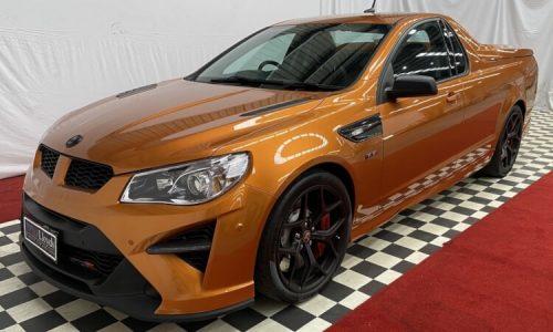 For Sale: 2017 HSV GTSR W1 Maloo ute, bidding at $735,000