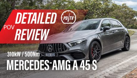 Video: 2020 Mercedes-AMG A 45 S – Detailed review (POV)