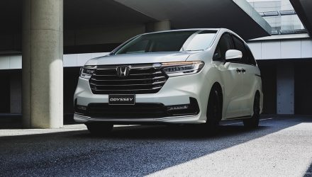 New-look 2021 Honda Odyssey on sale in Australia from $44,250