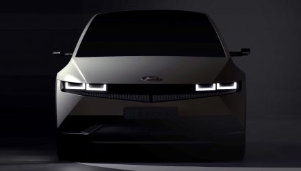 Hyundai IONIQ 5 preview confirms retro design from 45 concept