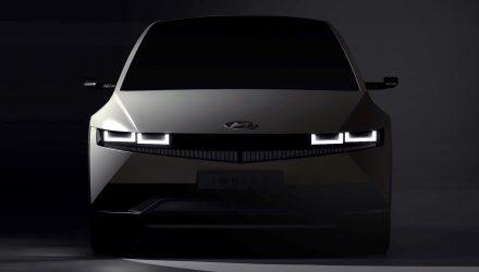 Hyundai IONIQ 5 preview confirms retro design from 45 concept