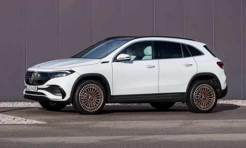 Mercedes-Benz EQA fully electric SUV revealed