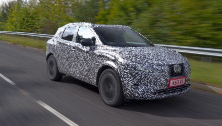 2021 Nissan Qashqai previewed, gets range-extender EV option