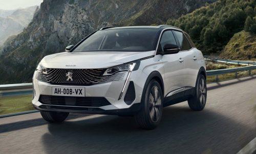 2021 Peugeot 3008, 5008 updates confirmed for Australia