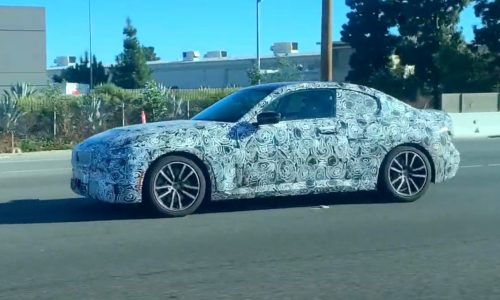 2022 BMW 2 Series 'G42' coupe spotted, M245i? (video)