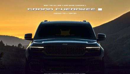 2022 Jeep Grand Cherokee L 'WL' officially previewed