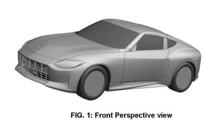 2022 Nissan Z car design confirmed via patent images