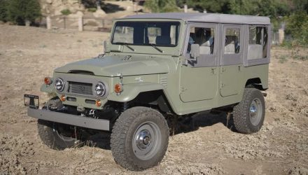 ICON creates perfect Toyota LandCruiser FJ44 with 6.2 V8 conversion