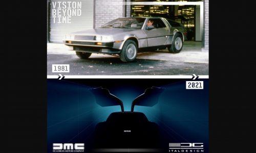 Italdesign creates modern DeLorean, celebrates 40th anniversary