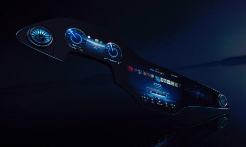 Mercedes-Benz EQS debuts spectacular MBUX 'Hyperscreen' interface
