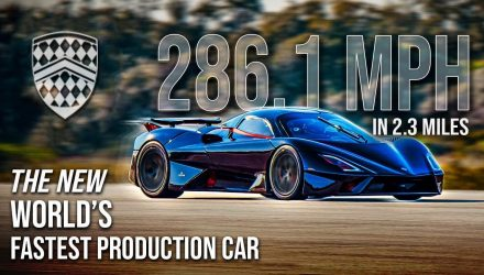 SSC Tuatara becomes new fastest car in the world, 455.2km/h (video)