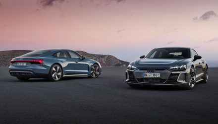 Fully electric Audi e-tron GT and RS e-tron GT revealed
