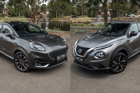 2021 Ford Puma ST-Line vs Nissan Juke Ti