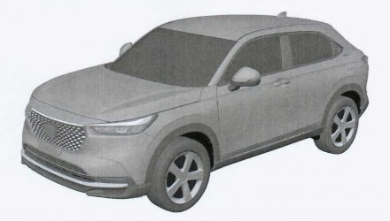 2021 Honda HR-V design exposed via patent images