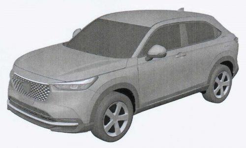 2021 Honda HR-V design exposed via patent images