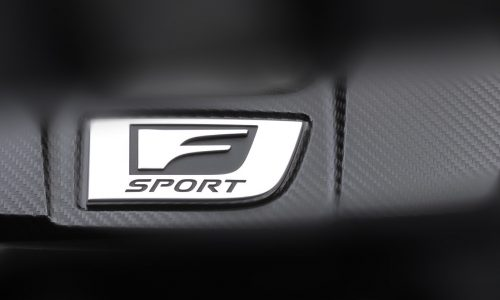 New Lexus F Sport model previewed, could it be the IS 500?