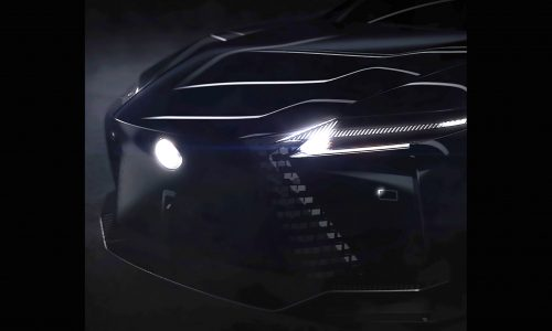 Lexus previews all-new design, global sales down 6% in 2020