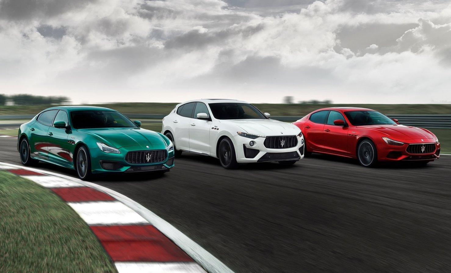 2021 Maserati Ghibli, Levante, Quattroporte on sale in Australia