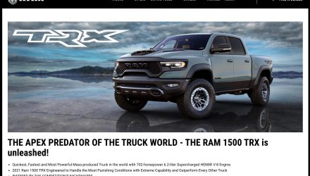 2021 RAM 1500 TRX 'Hellcat' confirmed for Australia, to arrive later this year