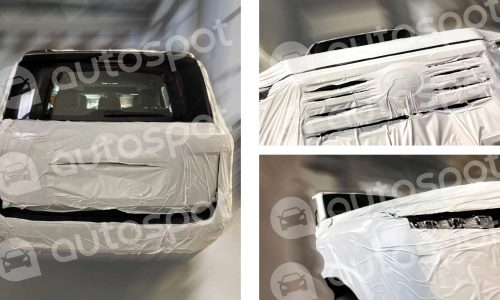 2021 Toyota LandCruiser 300 Series spied, inside and out