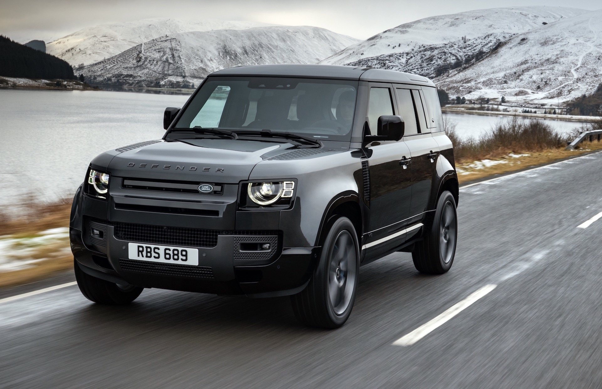 2022 Land Rover Defender P525 supercharged V8 announced