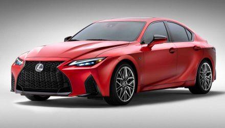 2022 Lexus IS 500 F Sport Performance V8 sedan revealed
