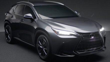 2022 Lexus NX leaks online; TNGA platform, 350h and 450h+ confirmed