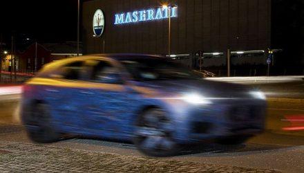 2022 Maserati Grecale mid-size SUV previewed