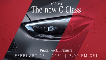 2022 Mercedes-Benz C-Class W206 debuts Feb 23, complete electrified lineup (video)