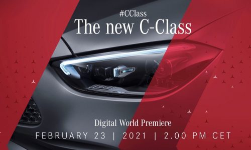 2022 Mercedes-Benz C-Class W206 debuts Feb 23, complete electrified lineup (video)