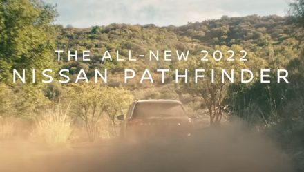 2022 Nissan Pathfinder previews its V6 roar (video)