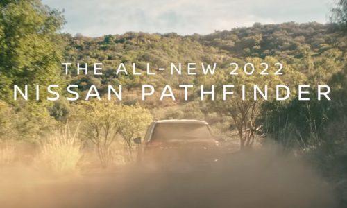 2022 Nissan Pathfinder previews its V6 roar (video)