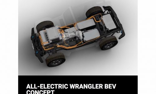 Fully electric Jeep Wrangler concept to debut in March