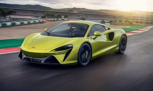 McLaren Artura unveiled; debuts V6 hybrid, fresh MCLA platform