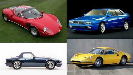 Top 10 Italian sports car tax specials
